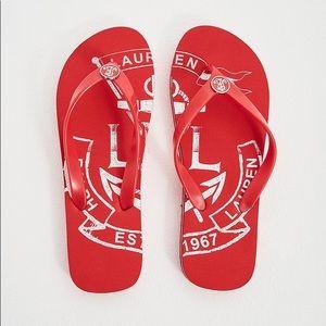 LAUREN RALPH LAUREN Women's Elissa Ii Flip-Flop